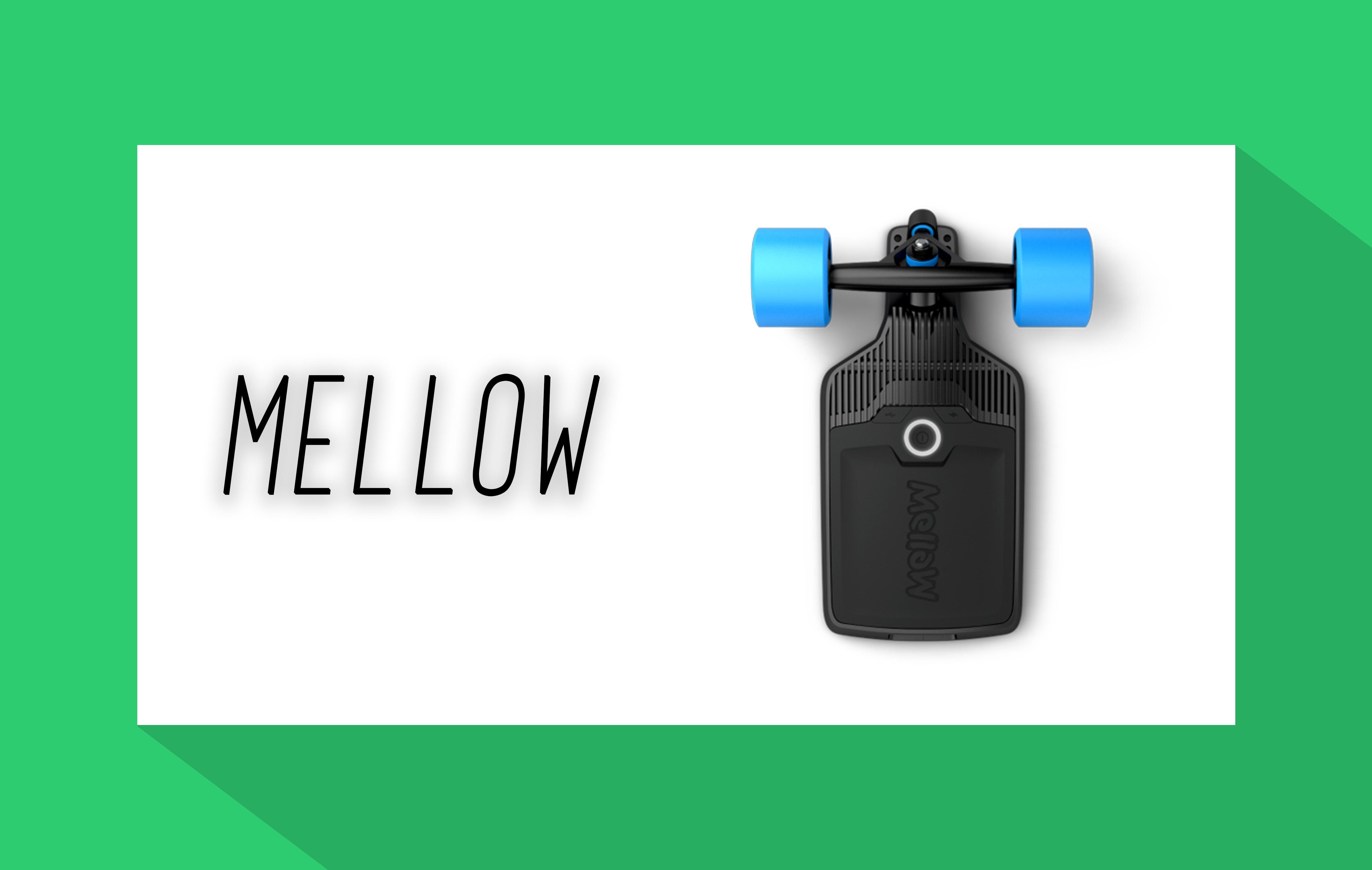 mellow elektro skateboard. Black Bedroom Furniture Sets. Home Design Ideas