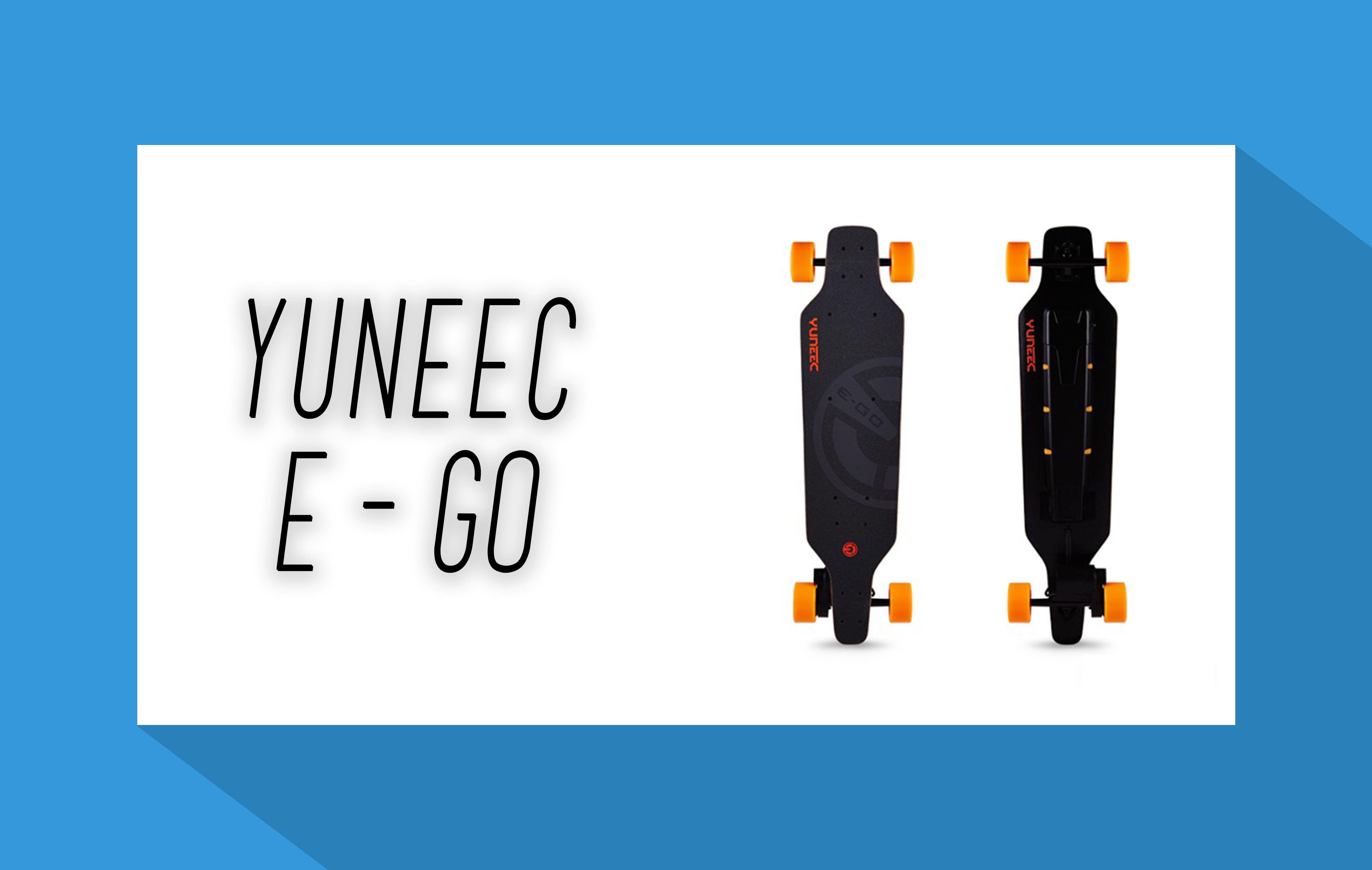 yuneec e go elektro skateboard. Black Bedroom Furniture Sets. Home Design Ideas